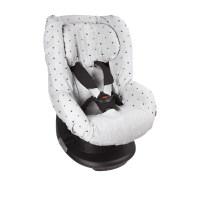 Dooky Seat Cover 1 - Auto-Kindersitzbezug Gruppe 1 / Hellgraue...