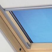 """VELUX-Innenrollo RFL für Fenstergröße C04 """"9050 dunkelblau"""""""