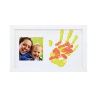Happy Hands - Baby & Me Farbabdruckset / Bilderrahmen