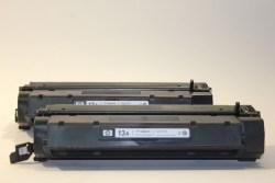 HP Q2613A LaserJet 1300 Toner Black 2 Kartuschen -Bulk