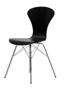 Tenzo Stuhl TEQUILA RIPO schwarz / chrome 4er Set 9121-824