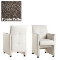Designer Stuhl - Cross Leder Toledo Caffe von Kasper Wohndesign
