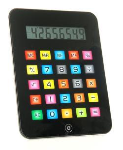 """Tischrechner Taschenrechner Solarrechner Optik Cult Tablet iPad"""""""""""
