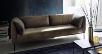 KAWOLA Sofa CARRY 3-Sitzer Stoffsofa Stoff oliv-grün 226x76x89cm B/H/T