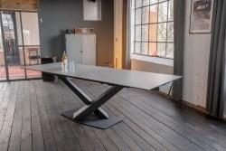 KAWOLA Esszimmertisch PENNY Tisch Metall/Keramik
