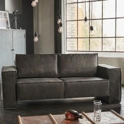 KAWOLA LINO Sofa 198cm toffee braun