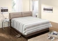 Polsterbett INA Kunstleder beige Bett 160x200cm