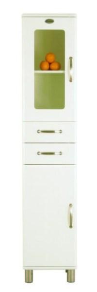Tenzo Malibu Badschrank 5168 Weiß - Badezimmer Hochschrank