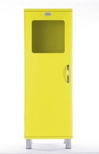 Tenzo Vitrine / Schrank Malibu 5111 - 1 Tür - Gelb