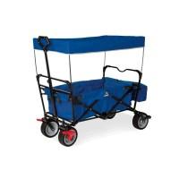 Klappbollerwagen 'Paxi dlx' mit Bremse, blau