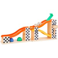 Klopfkugelbahn Ralley