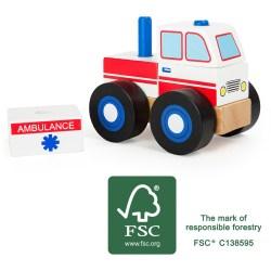 Konstruktionsfahrzeug Krankenwagen