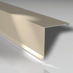 Pultabschluss 150 x 150 mm - Aluminiumblech 25 my polyester beschichtet