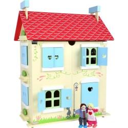 Puppenhaus mit abnehmbarem Dach