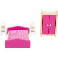 Puppenhausmöbel Schlafzimmer