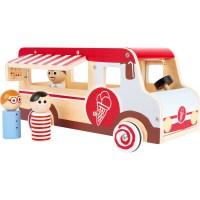 Spielauto Eiswagen XL