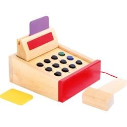 Spielkasse aus Holz