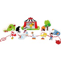 """Spielwelt """"Zirkus zum Fädeln"""""""