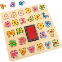 """Stempel und Puzzle """"ABC"""""""