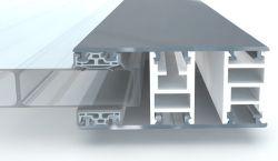Stückliste für Classic Aluminium Verlege Randprofil 70mm für Stegplatten