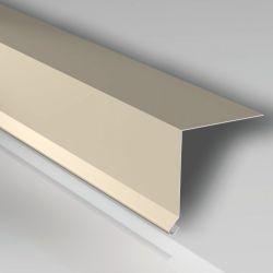 Traufenblech 155 x 40 mm Stahlblech 25my Polyesterlack Rinneneinhang