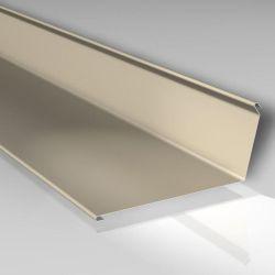 Wandanschlußprofil zum Versiegeln 12x140x140 mm - Stahlblech 60 my TTHD beschichtet