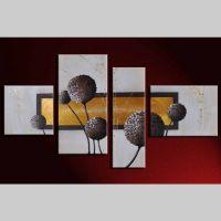 4 Leinwandbilder ABSTRAKTE KUNST (14) 120 x 70cm Handgemalt