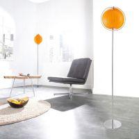Stehlampe BOLA Orange 160cm Höhe