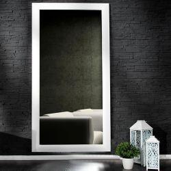 XXL Zeitlos Romantischer Wandspiegel LILLE Weiß in Klassik-Design 180cm x 85cm