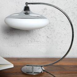 Tischlampe LATERNA Weiß 50cm Höhe