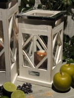 Appletree Laterne Antique White Shabby