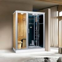 Dampfdusche Nevada inkl. Saunafunktion 170x100cm