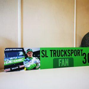 """LKW Namensschild für Fans von """"SL Trucksport"""""""