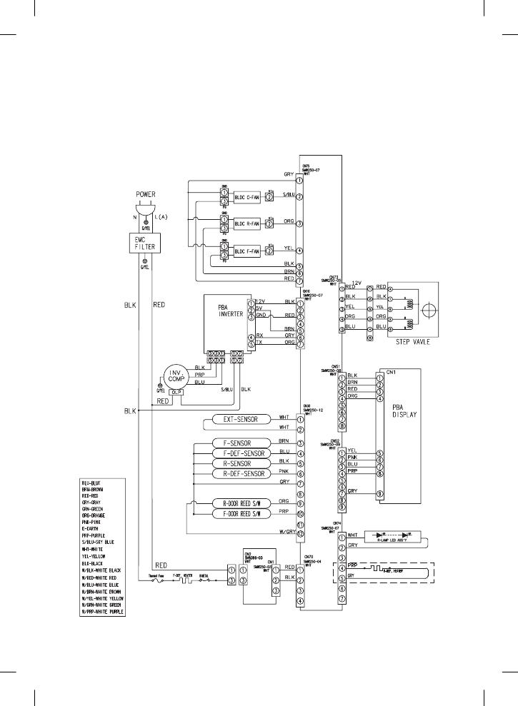 Schaltplan Samsung Kühlschrank