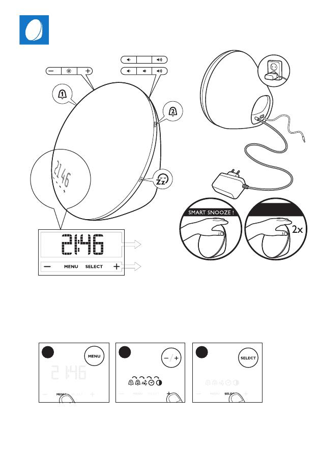 Gebrauchsinformation / Datenblatt zu Philips HF3531/01