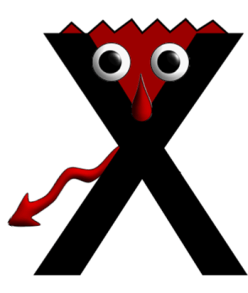 Monster letter x