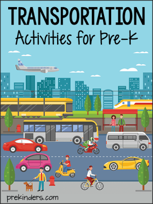 Transportation Activities and Lesson Plans for PreK and Preschool  PreKinders