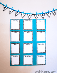 Birthday chart for classrooms also crown certificate prekinders rh