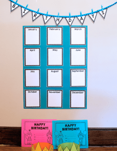 Lots of free birthday printables for teachers also crown certificate chart prekinders rh