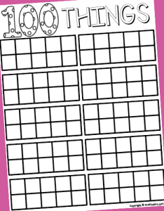 day frame printable also days of school in pre  prekinders rh