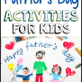 Father S Day Activities For Kids Prekinders