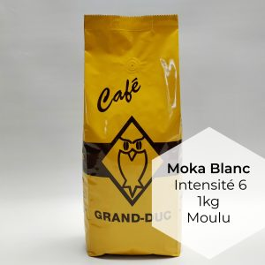 Café Grand-Duc Moka Blanc Moulu