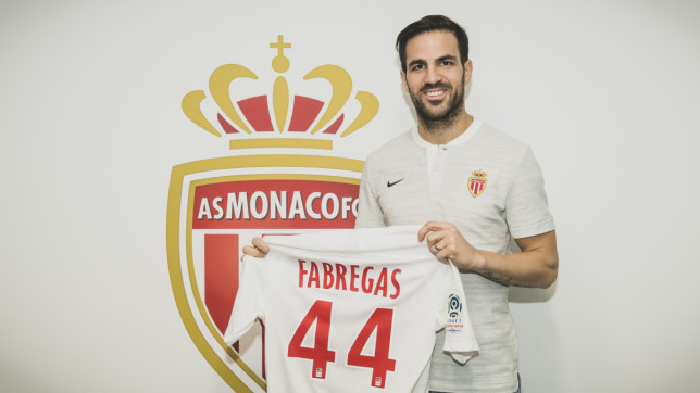 Сеск Фабрегас потпиша за Монако до 2022 година