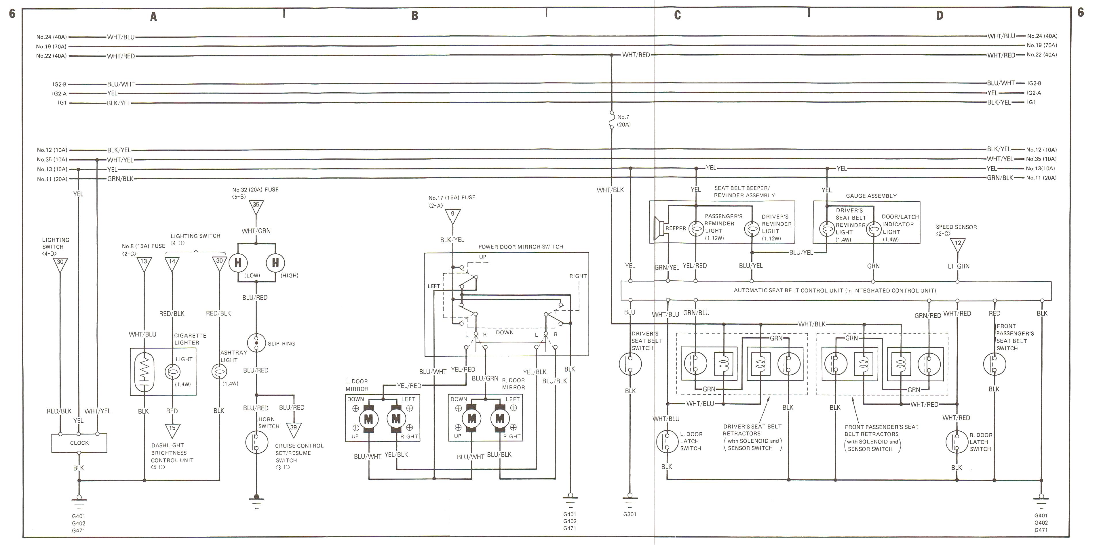 88-89 Wiring Diagrams