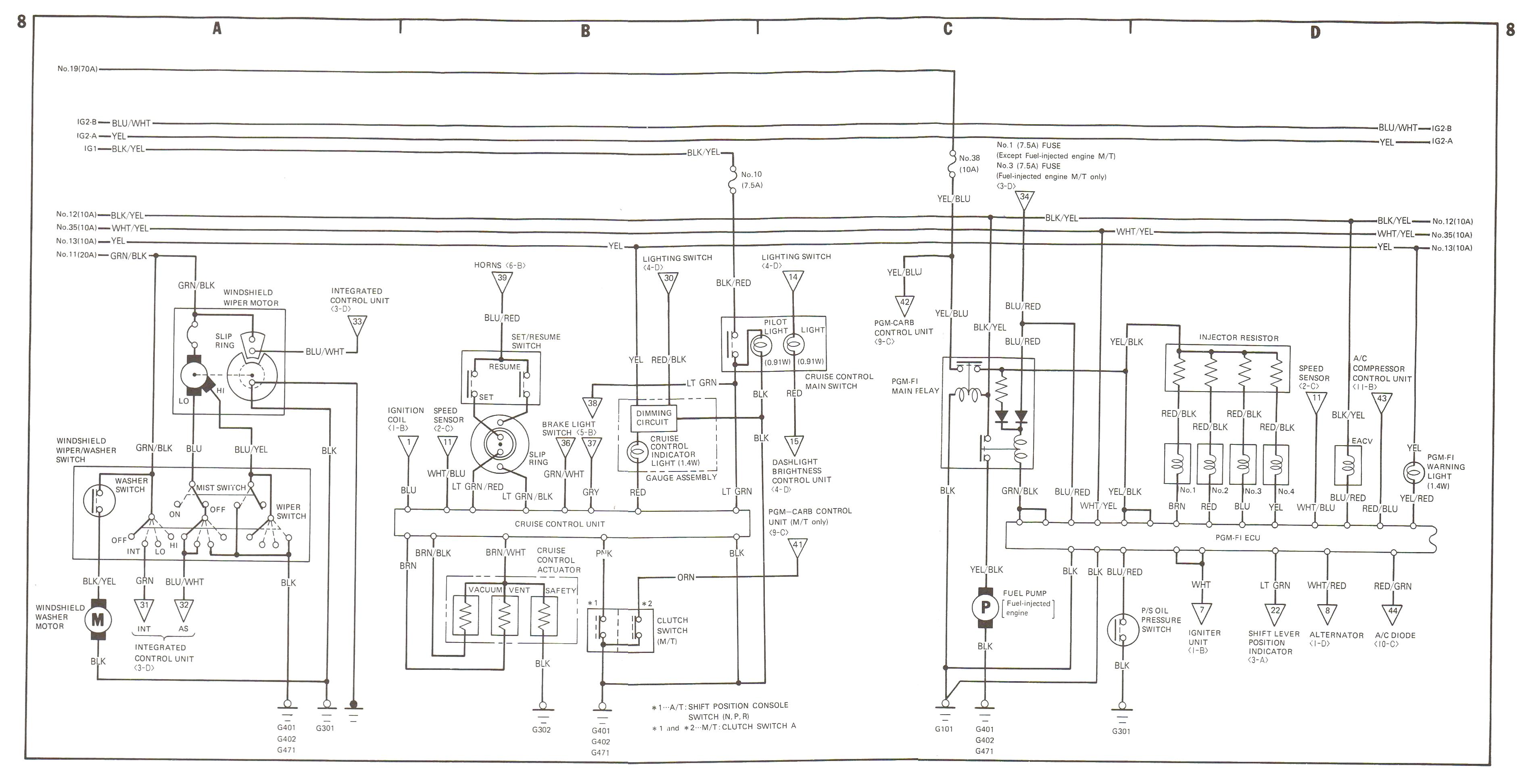 88 89 Wiring Diagrams