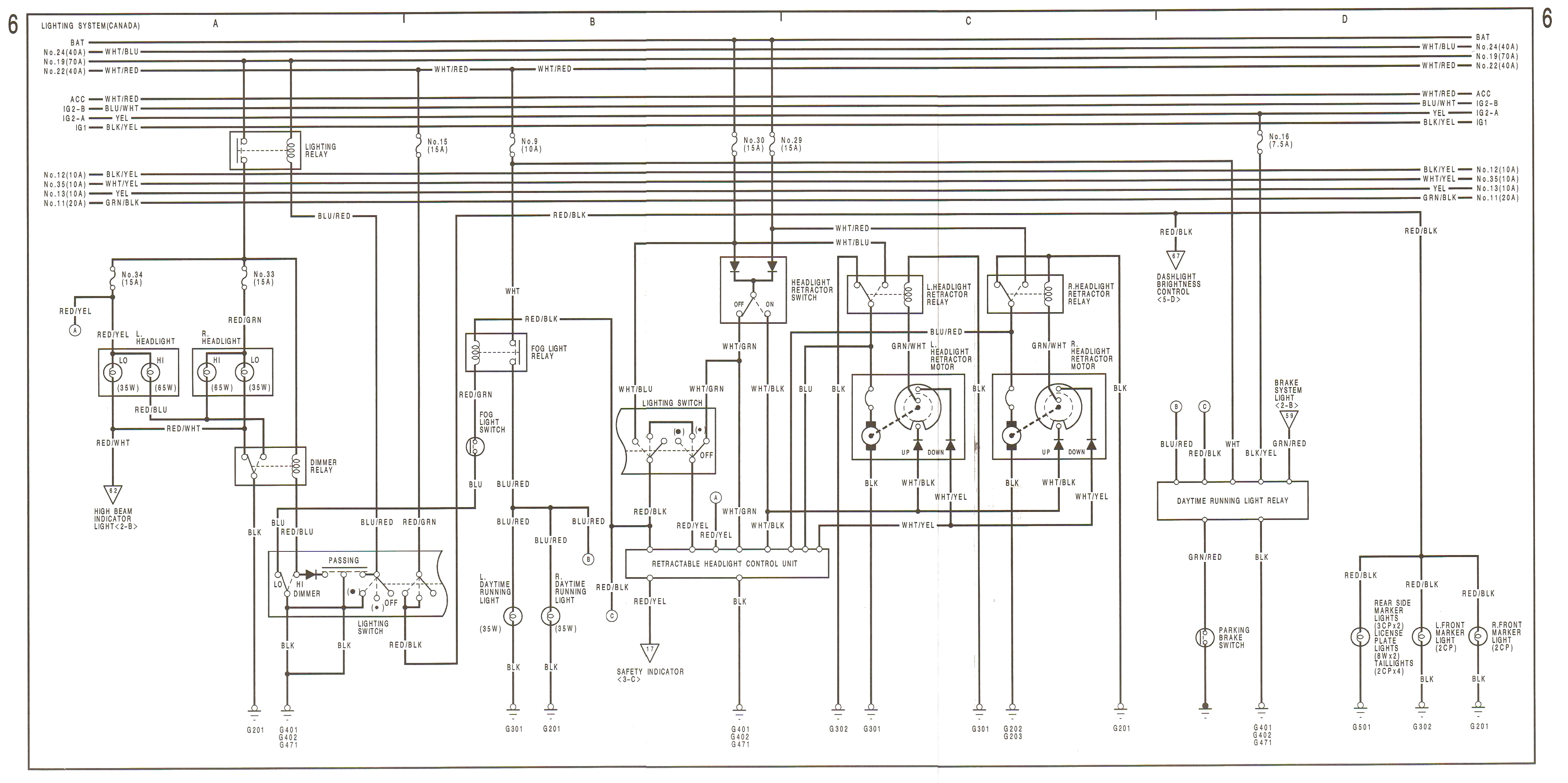 90 91 Wiring Diagrams