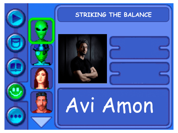 Panelist card of Avi Amon