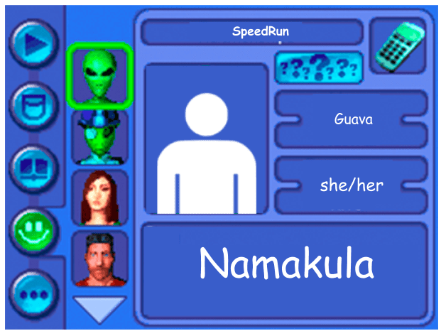 Performer card for Namakula as guava