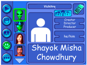 Performer card of Shayok Misha Chowdhury, Creator, Director and Producer