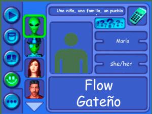 Performer card for Flow Gateño